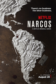 poster for Marcos with Central and South America outlined in cocaine