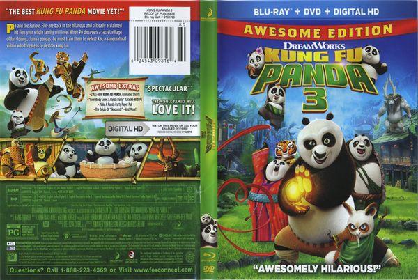 Kung Fu Panda 3 – Castellano, Inglés – DVD9