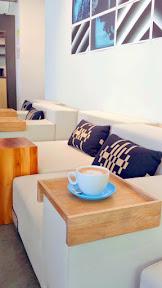 Hot cocoa at Glyph Café & Art Space