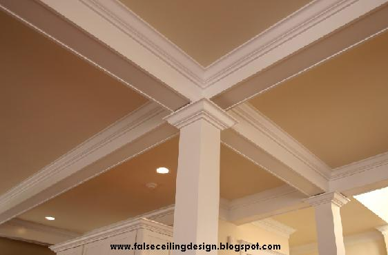 Interior design false ceiling beams - Ceiling designs with beams ...