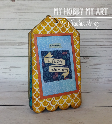 Mini album, clear Scraps Kits, Ruthie Lopez 2