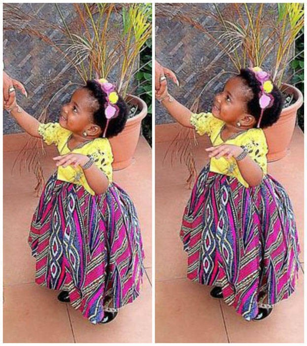 Ankara dresses for children (1)