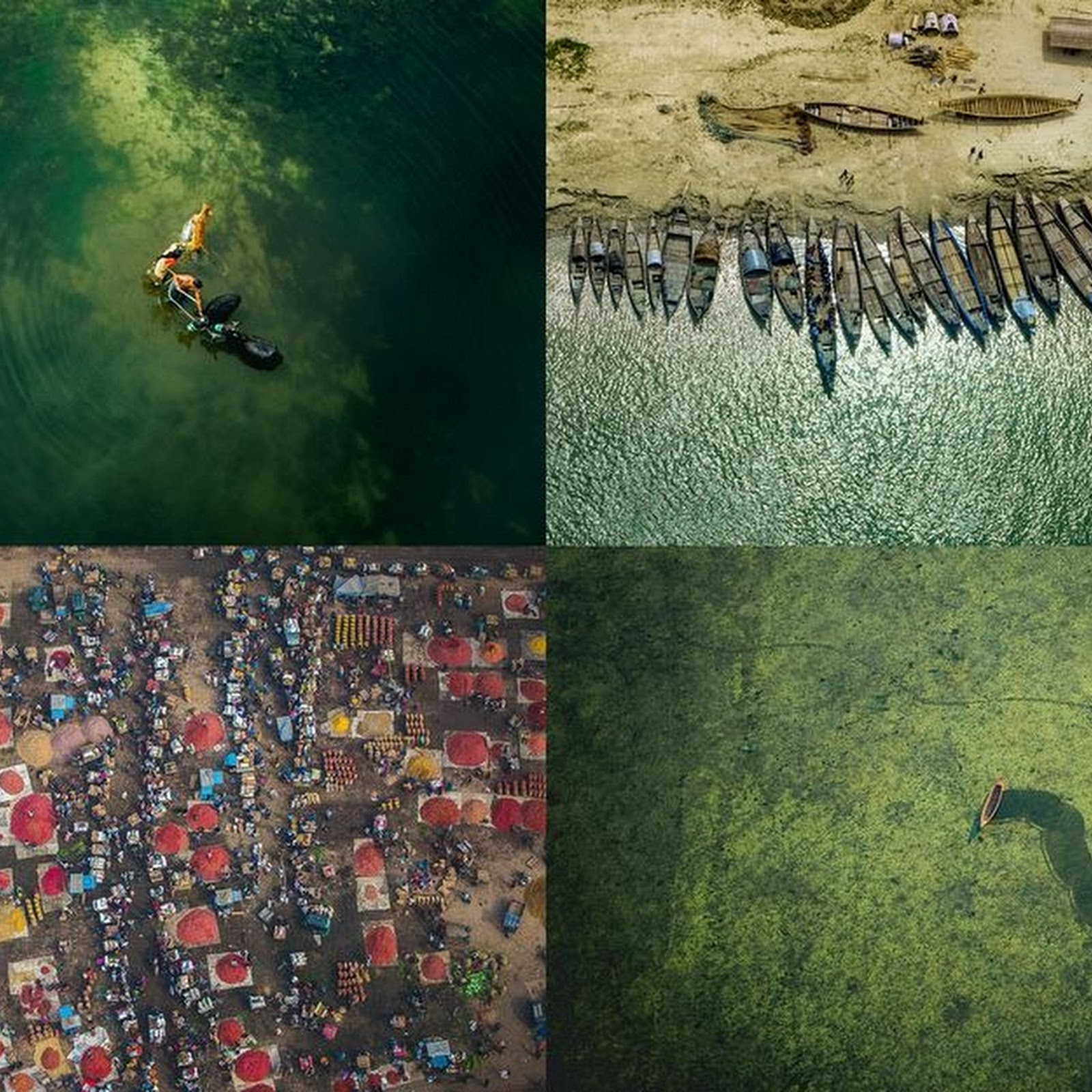 Bangladeshi Aviator Shoots Stunning Aerial Photos of His Green Country