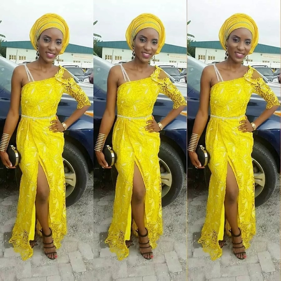 Latest Aso Ebi Styles Dresses For African Woman 8