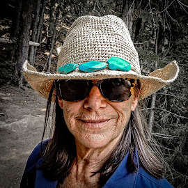 Years on the Ranch by Richard Michael Lingo - People Portraits of Women ( face, woman, portraits, montana, people,  )