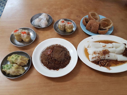Dim sum breakfast on a Saturday morning in Penang