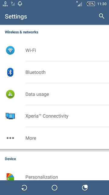 Solusi Data Internet Hp Sony Xperia Tidak Mau Muncul Meski Data