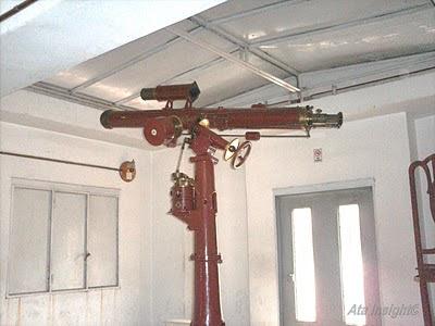 Interior del observatorio