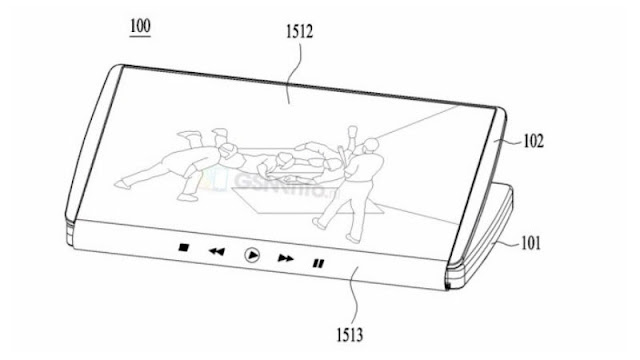 LG Foldable Smartphone Patent Leaked