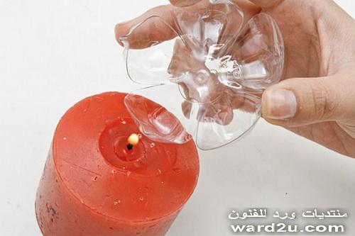 احدث اشغال يدويه من الزجاجات البلاستيك