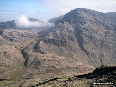 Great End, seen from descent of Great Gable