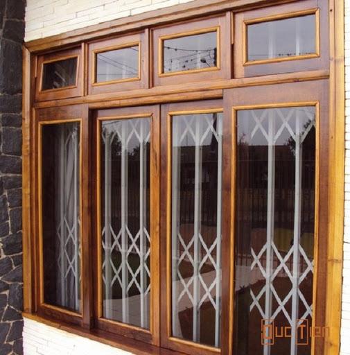 cưa sổ gỗ kết hợp với kính,cửa sổ gỗ