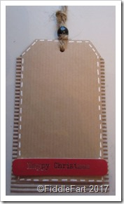 Corrugated Card Tag