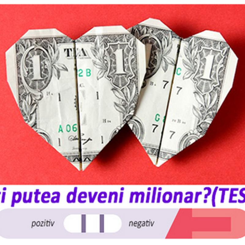 Ați putea deveni milionar? (Test)