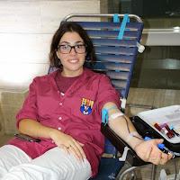 Pilar i donació a la Marató de Donació de sang  24-09-14 - IMG_4524.JPG