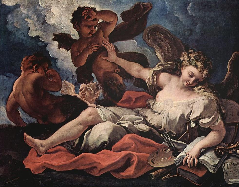 Sebastiano Ricci - Allegory of the Arts