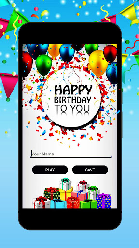 Birthday Song With Name & frame, quotes, songs photos 1
