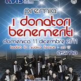 Premiazione benemeriti 2011 - 11 dicembre 2011 - Foto Domenico Cappella