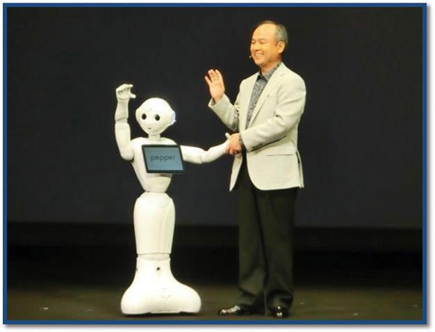 圖三-pepper服務型機器人