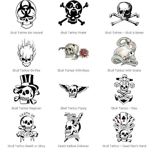 Galeria Tatuazy Tatuaże Czaszki