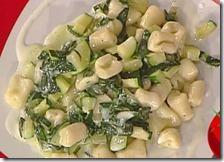 Gnocchetti con zucchine e taleggio