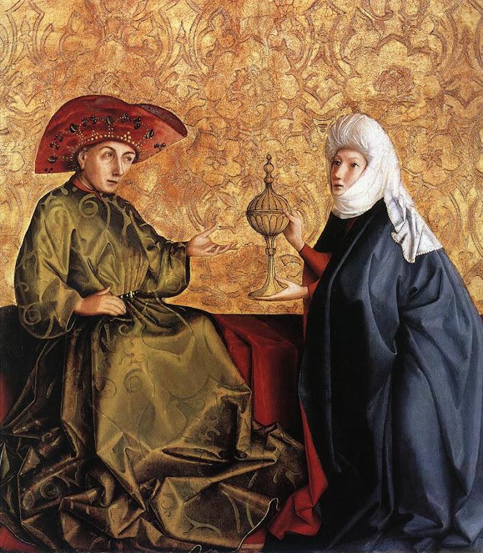 King Solomon And The Queen Of Sheba Konrad Witz, King Solomon