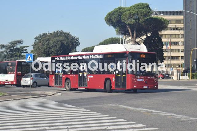 Bus Atac: il piano di rinnovo della flotta 2022-2024