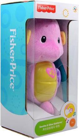 Cá ngựa ru ngủ màu hồng Fisher-Price Seahorse