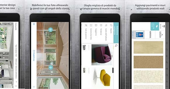 App android e iphone per arredare gli interni della casa for App per arredare