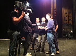 TV Interview in Riga / Latvia