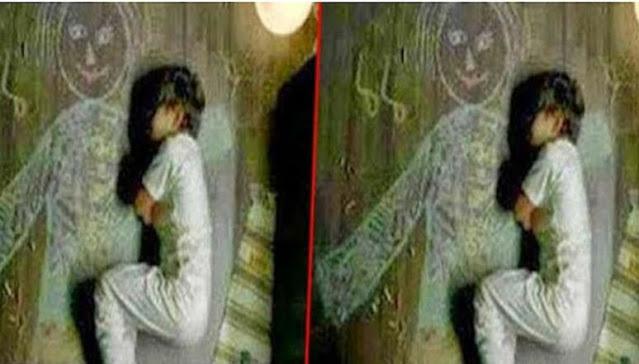 Sedih, Bocah Yatim ini Tidur di Samping Lukisan Ibunya yang Sudah Meninggal, Fotonya Jadi Viral di Medsos