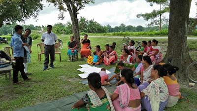Action plan at Anadhowapara, Udalguri