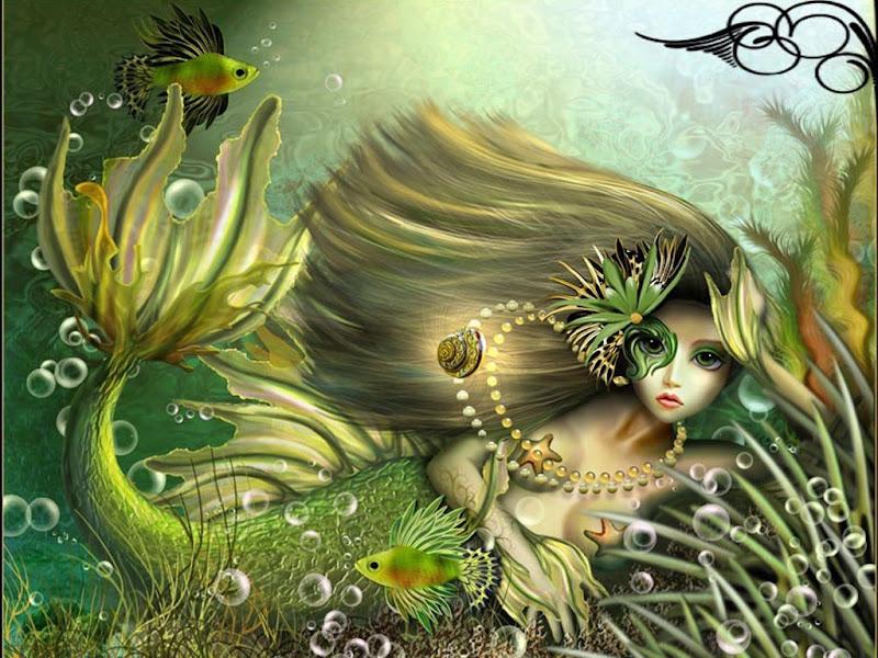 Mermaid Of Green Waters, Undines