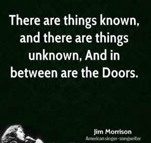 Quotes About Doors Custom Top 35 Famous Jim Morrison Quotes