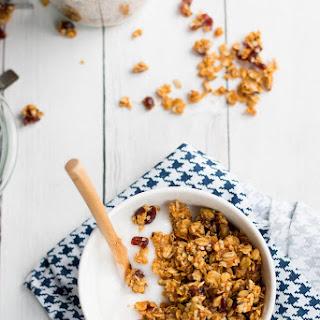 Pumpkin Granola // Pistachio + Coconut.