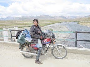 At Bara-Pani, Deosai, Baltistan