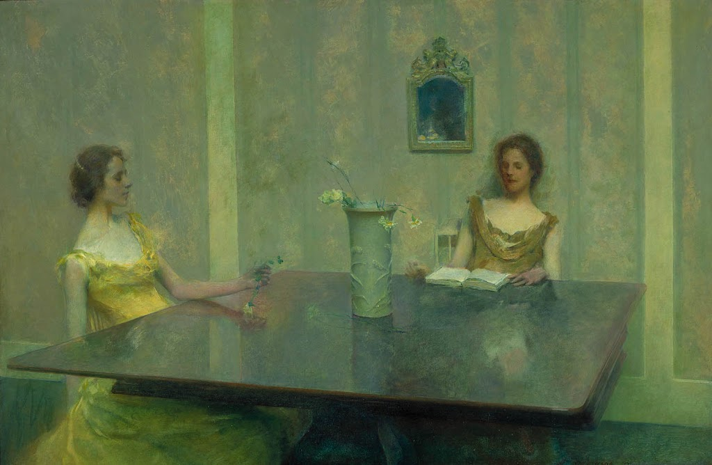 Thomas Dewing - A Reading
