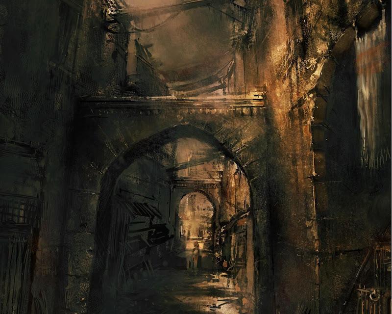 Corridor Of An Ancient Castle, Magical Landscapes 1