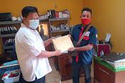 DPC PELIKHA dan Serikat Pekerja PT Ceria Prima Daftarkan Diri Ke Disnaker  Bengkayang