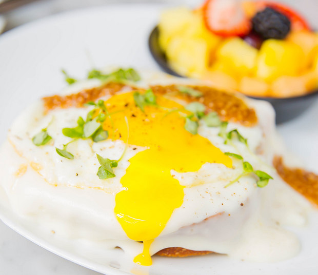 close-up photo of the fried egg