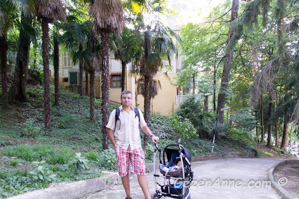 Termal'de minik bebeğimizle dolaşırken, Yalova