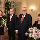 Novoroční oběd prezidentského a premiérského páru v Lánech