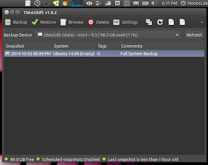 system restore ubuntu