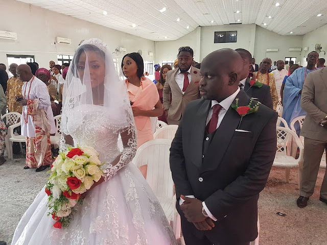 From School Relationship To The Altar;Longtime Friends Tie The Knot In Warri.PIC