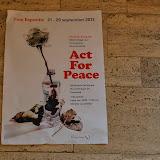 een Poster door de R.O.C.leerlingen vervaardigd voor de fototentoonstelling