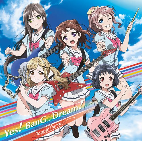 [Single] Poppin'Party – バンドリ!「Yes! BanG Dream!」 (2016.02.24/MP3/RAR)
