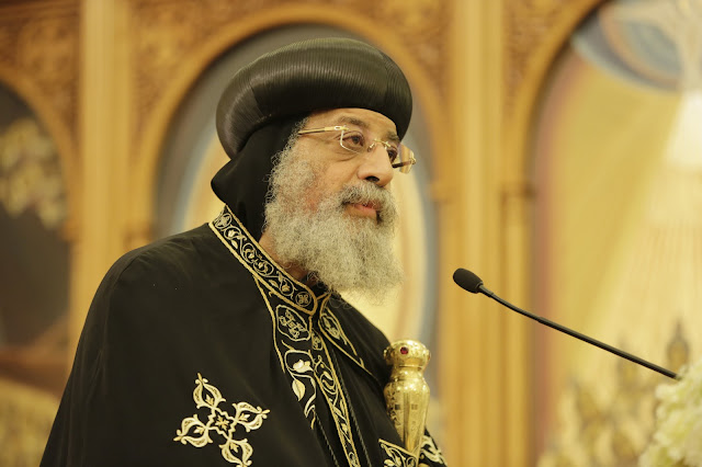 His Holiness Pope Tawadros II visit to St. Mark LA - _09A9198.JPG