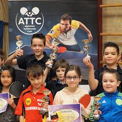 Kinder Tafeltennis Feest d.d. 29-12-2017