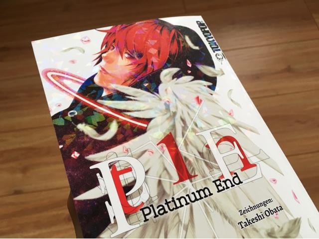 Review zum Manga Platinum End