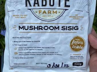 The Kabute Farm's Delicious Yet Guiltless Mushroom Sisig [Review]